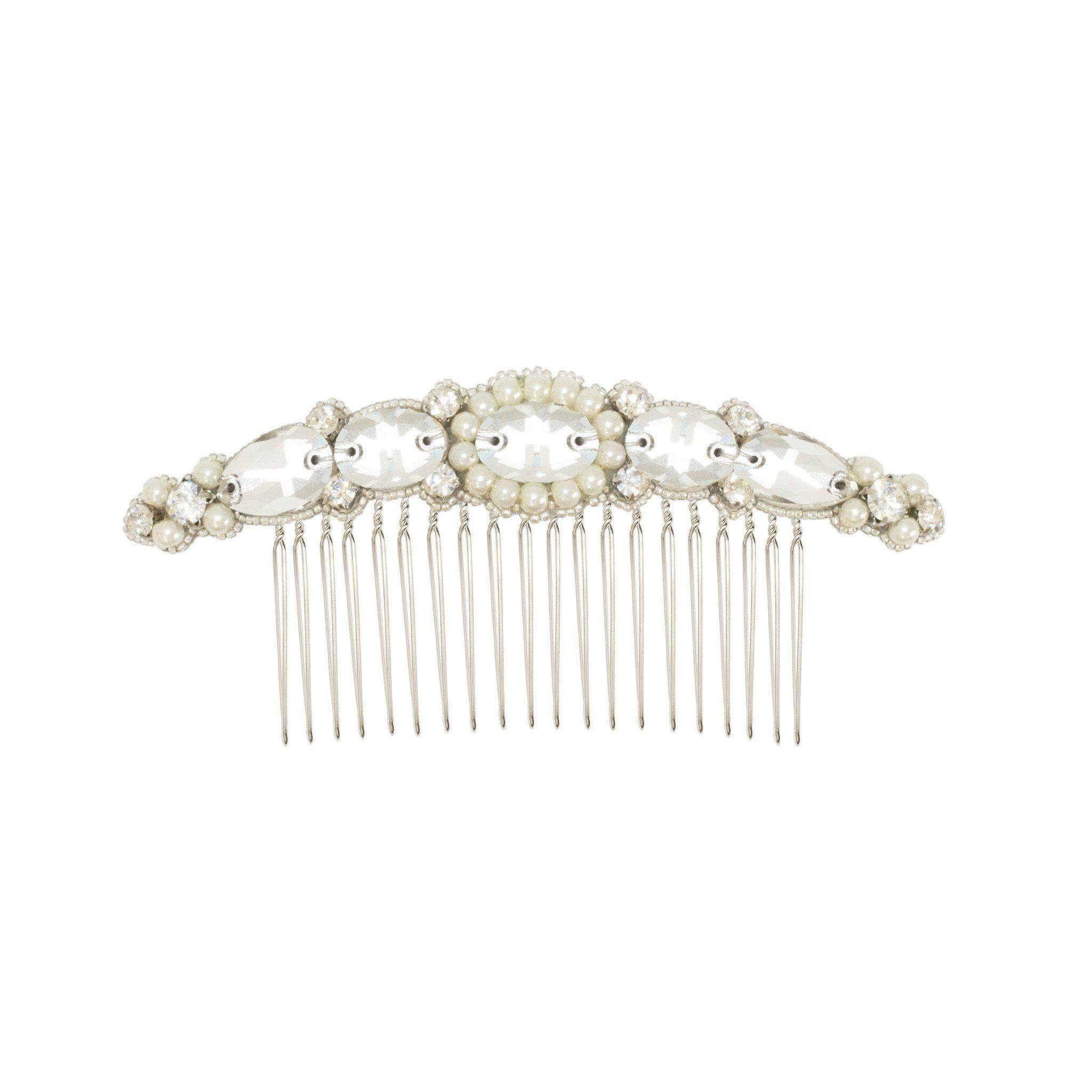 Curved Wedding Hair Comb