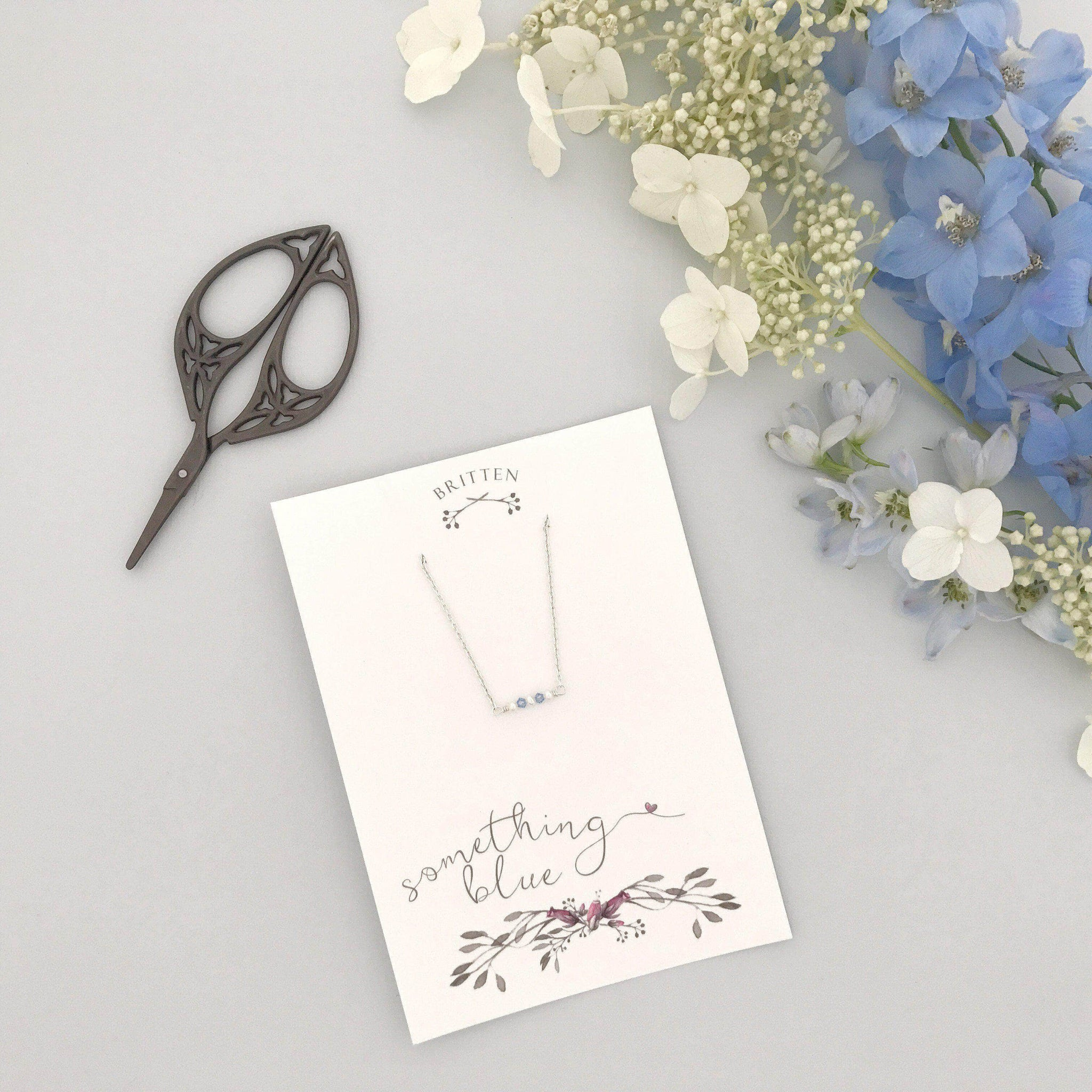 something blue bridal gift