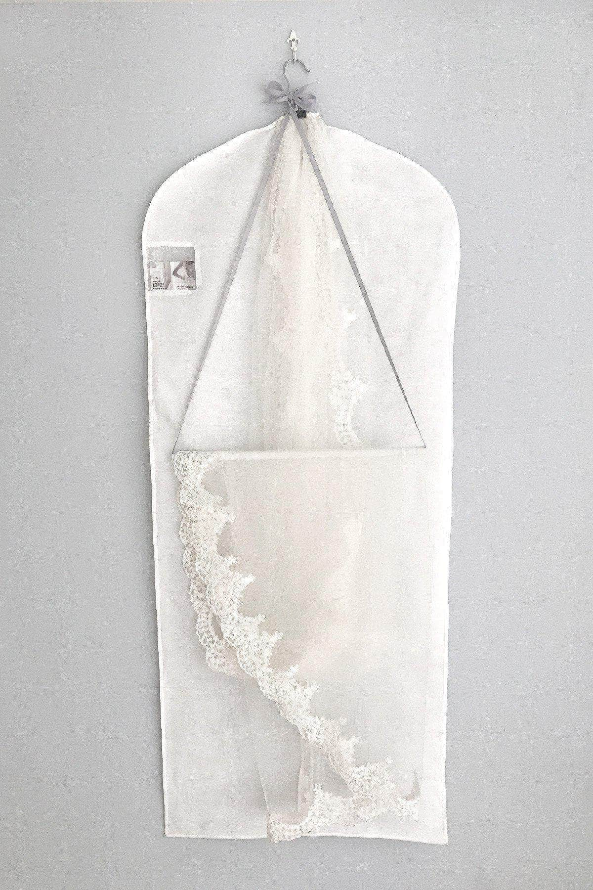 veil hanging hook and storage bag set