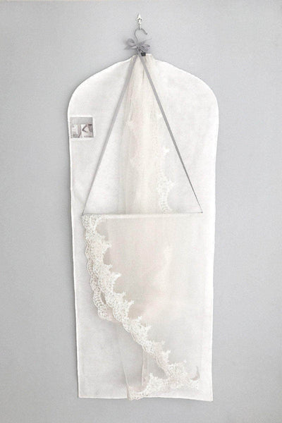 How do you Store a Wedding Veil? Veil Hanging Hook And Storage Bag Set