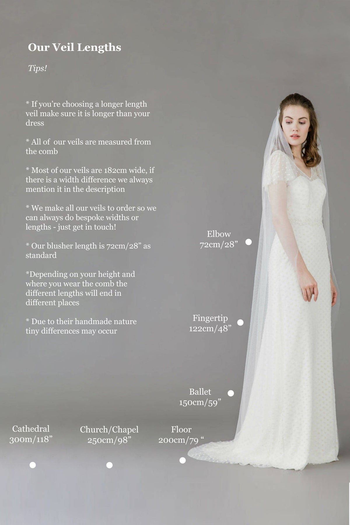 Extra wide single tier cut edge wedding veil - 'Niacae'