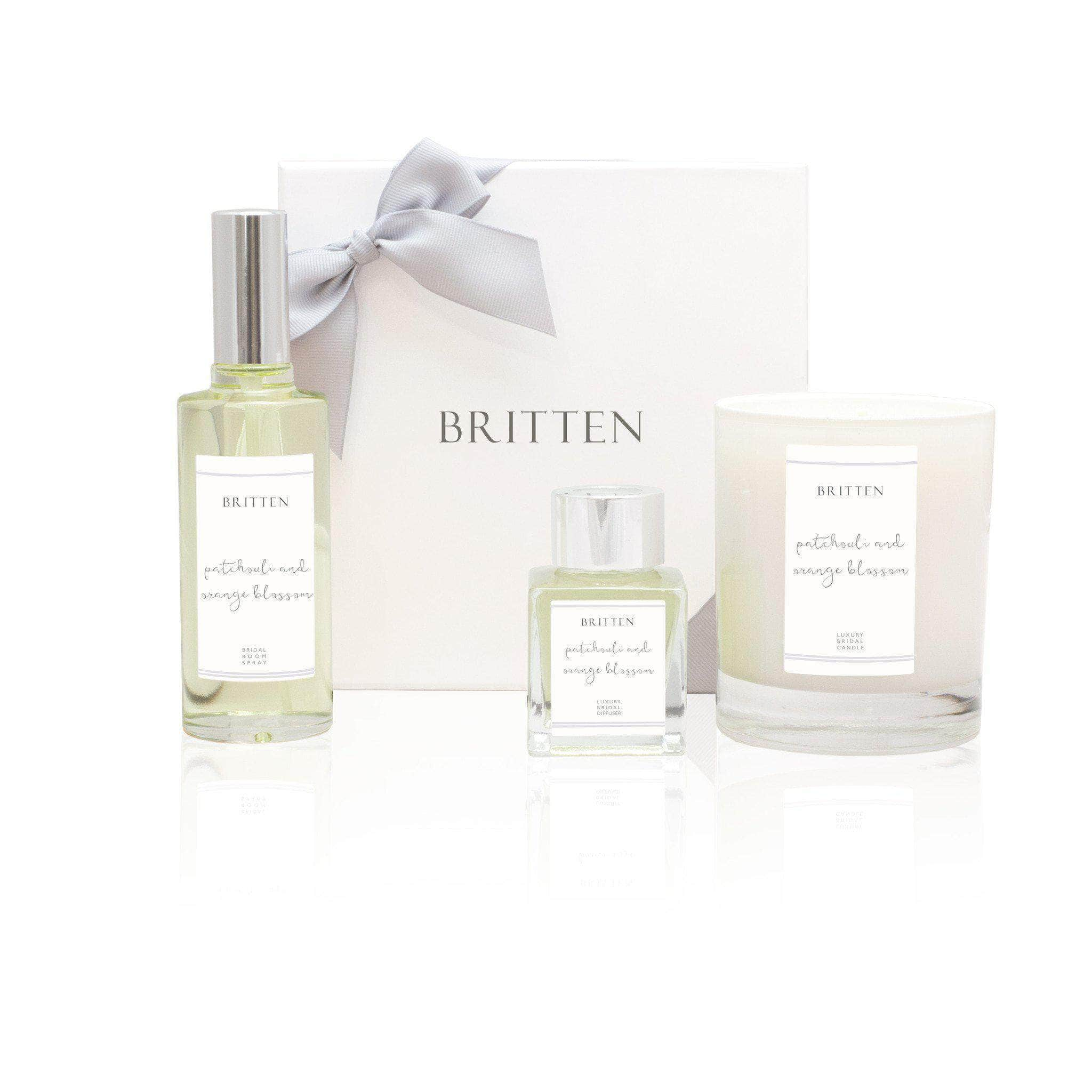 Patchouli & Orange Blossom Essential Oils Bridal Scent Gift Set