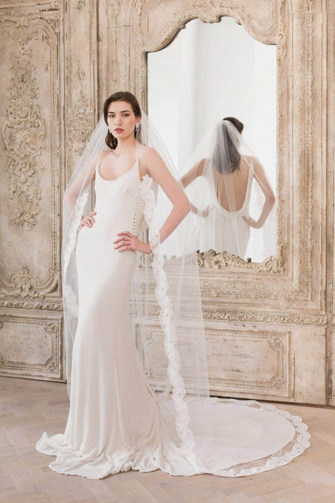bridal veil senior singles This delicate bridal veil is shaped in a single-tier, light-as-air and.