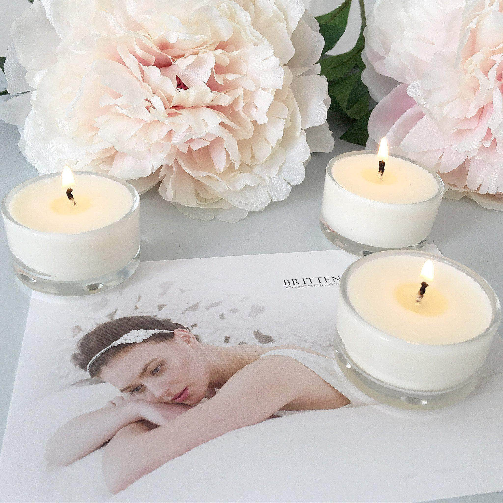 Scented wedding candle sample pack