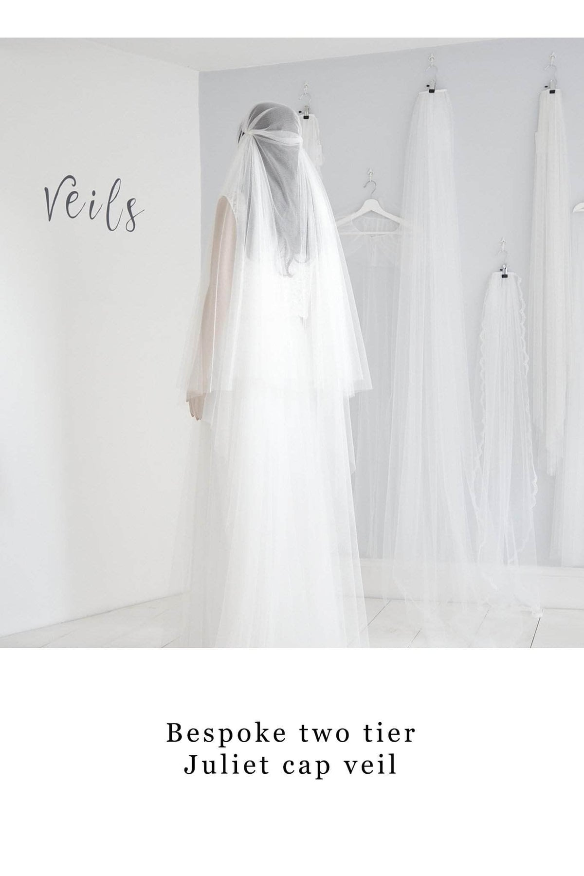 Custom Veil 'Custom veil- deposit for bespoke veil'- £50 Custom wedding veil, the bespoke veil option