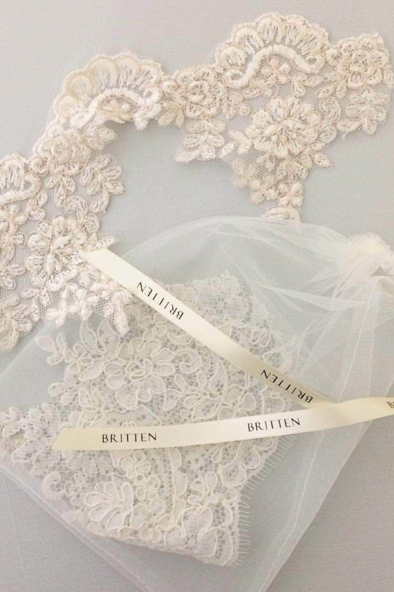 lace samples for wedding veils