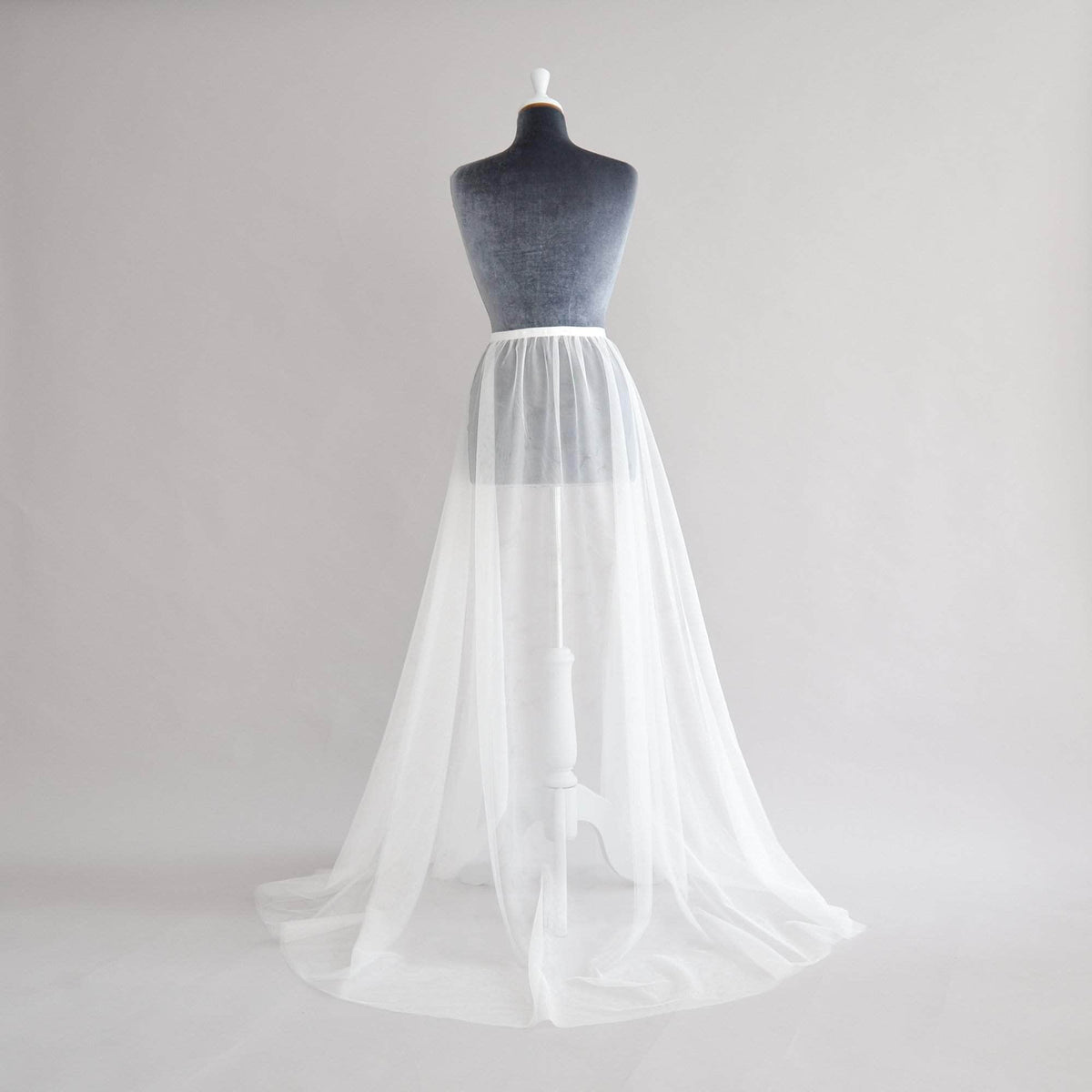 Wedding Cover Up Tulle wedding over-skirt - 'Jericho'