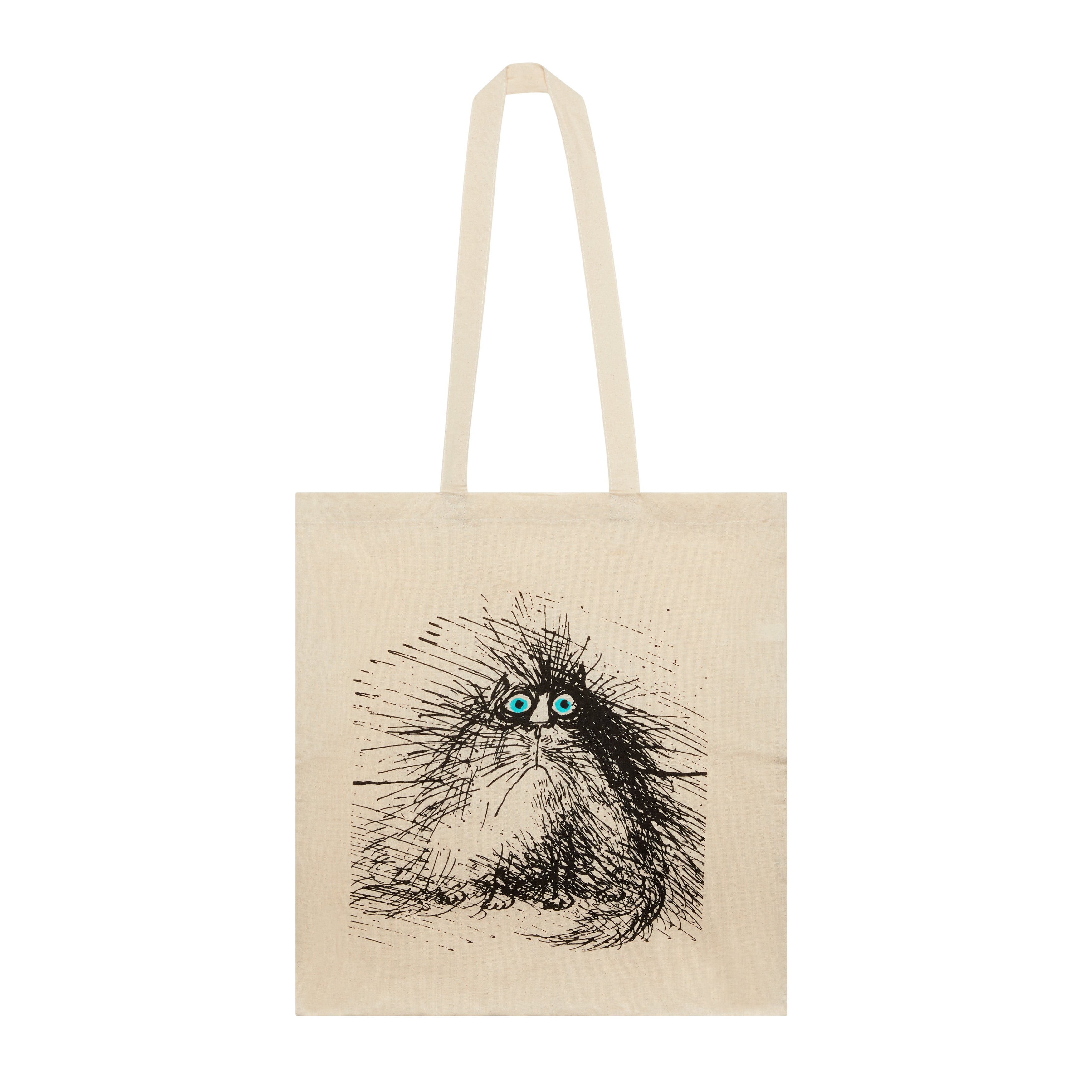 Featured image for the project: Tote Bag, Grumpy Cat, Ronald Searle