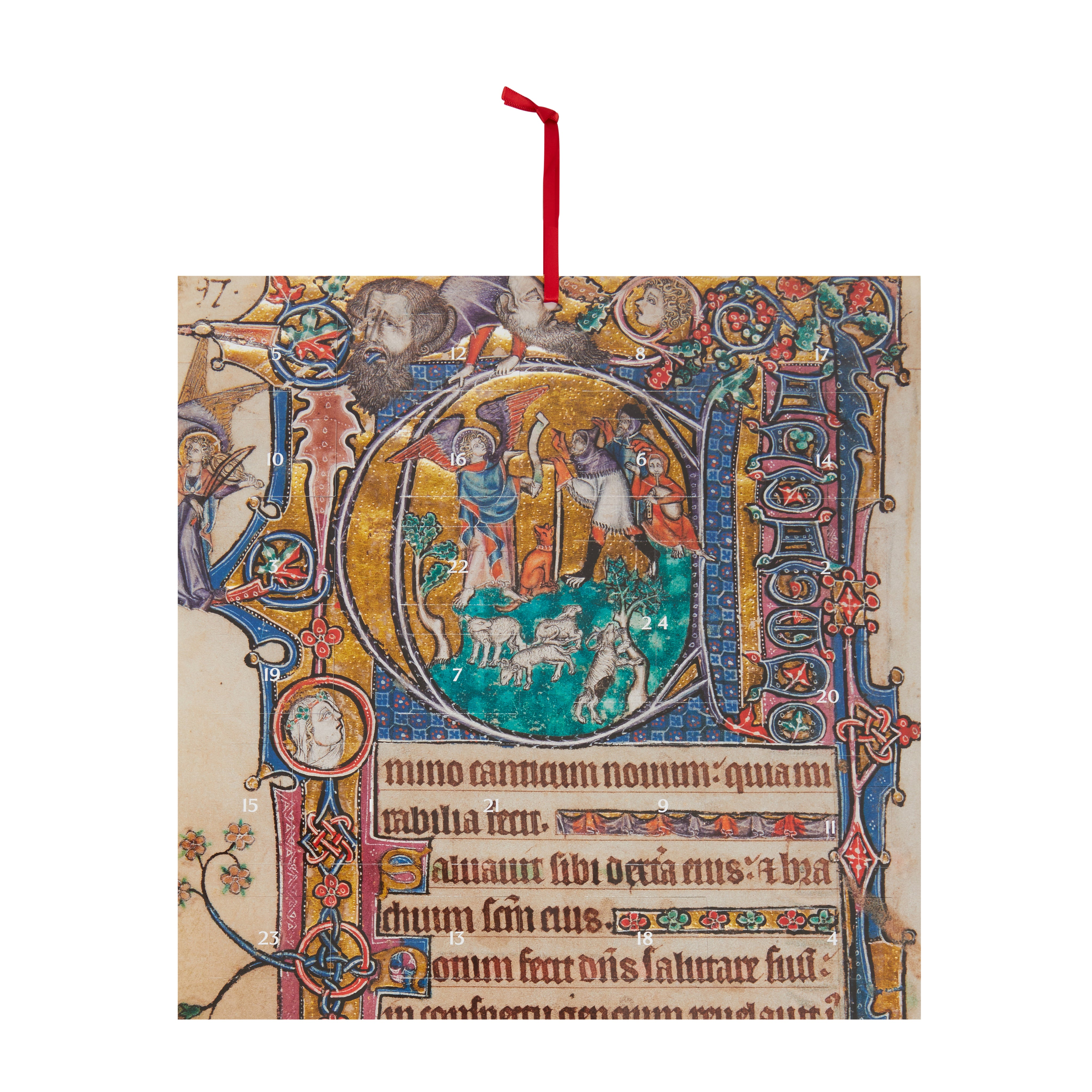 Featured image for the project: The Macclesfield Psalter - Large Advent Calendar