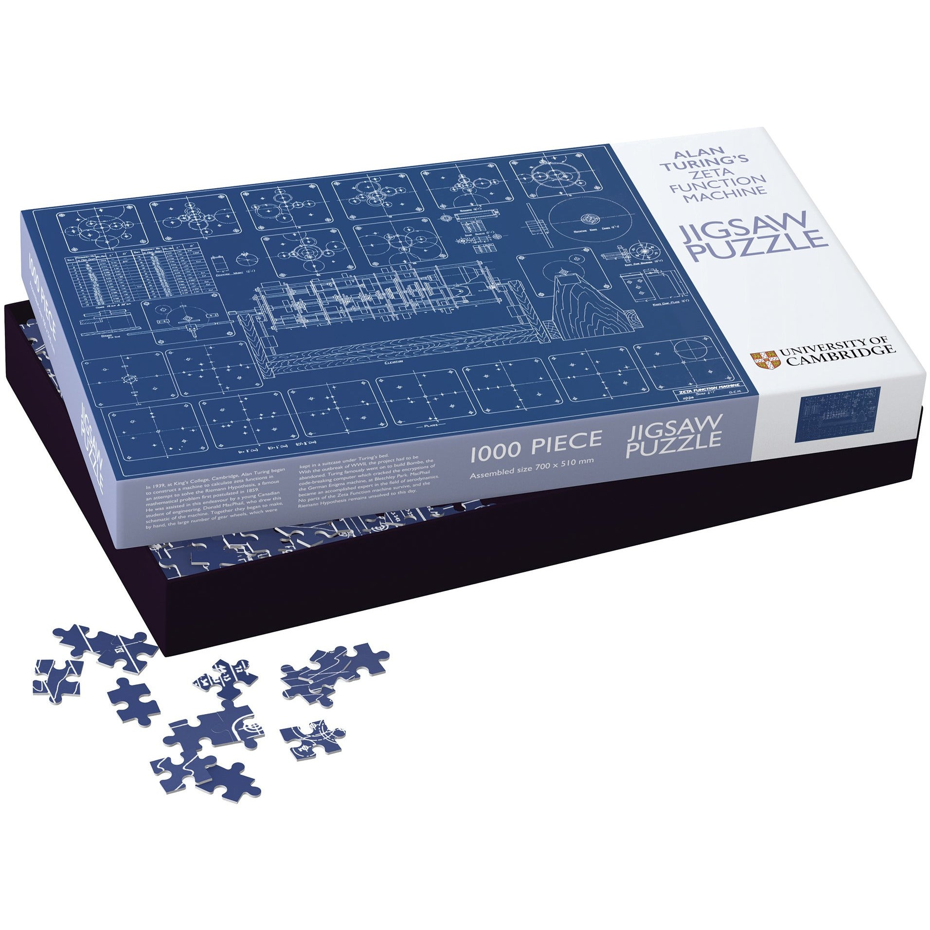 Featured image for the project: Alan Turing Zeta Machine - 1000 piece jigsaw puzzle