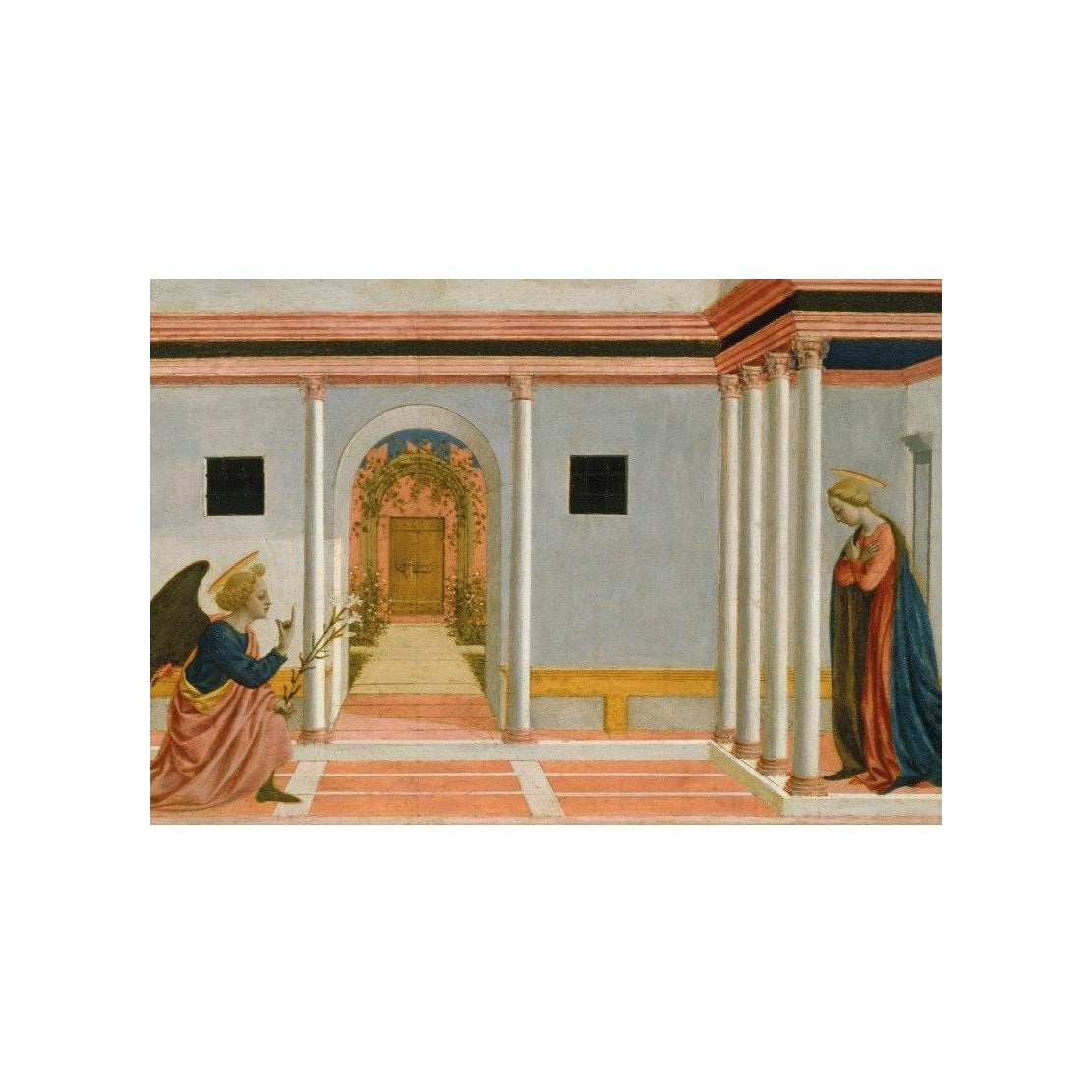 Featured image for the project: The Annunciation - Christmas card pack