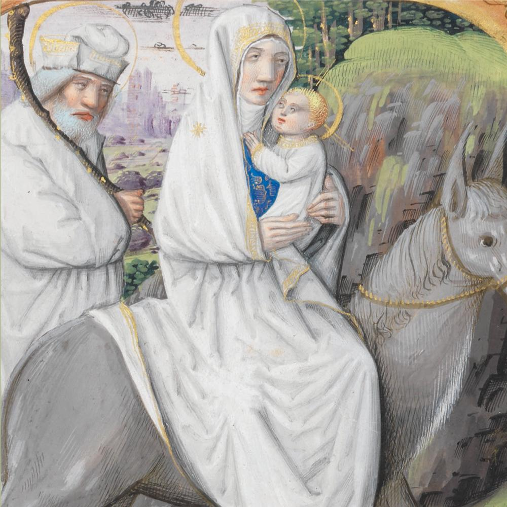 Featured image for the project: Flight into Egypt - Christmas card pack