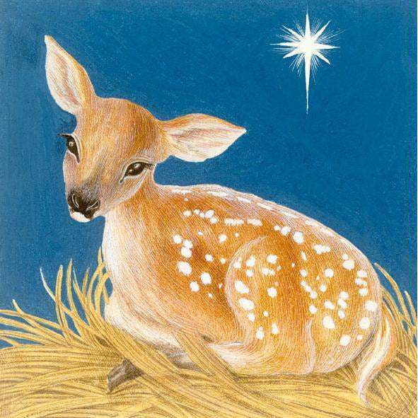 Featured image for the project: The Advent Fawn - Christmas card pack