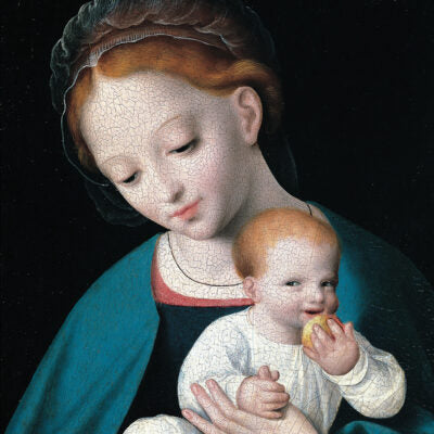 Featured image for the project: Virgin and Child with an Orange - Christmas card pack