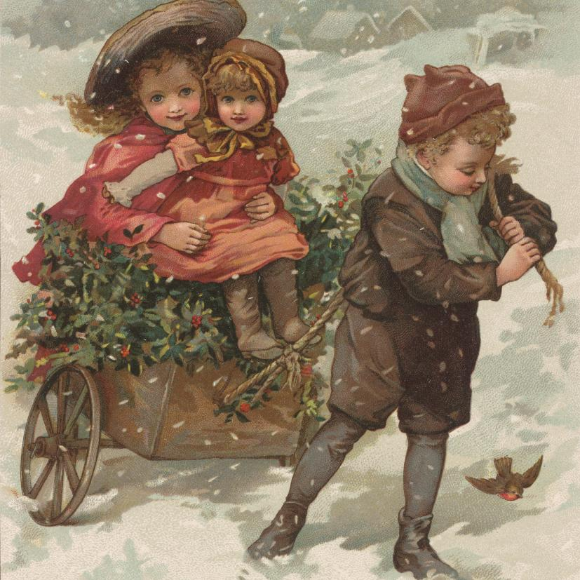 Featured image for the project: Baby's Ride - Christmas card pack