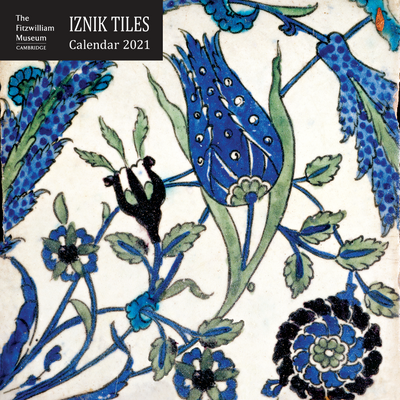 Iznik tiles wall calendar 2021. Iznik ceramics from the collection of The Fitzwilliam Museum. Brought to you by CuratingCambridge.com