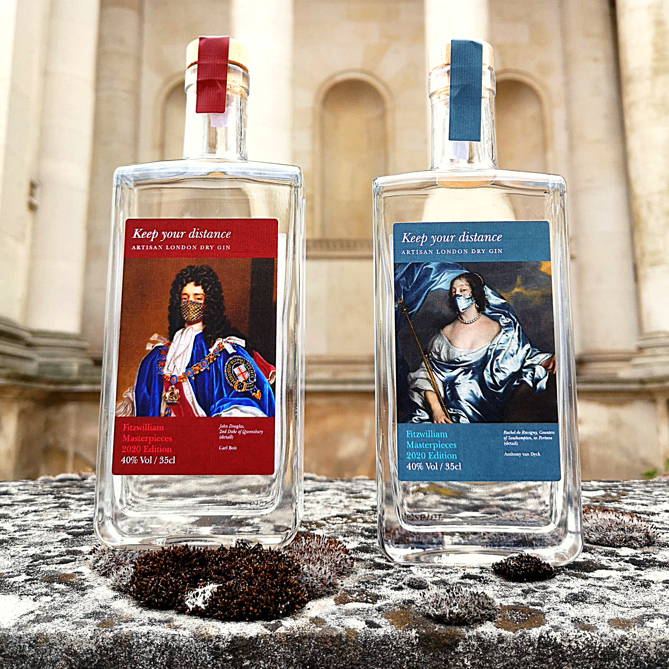 Featured image for the project: #Keep Your Distance Artisan London Dry Gin 40%