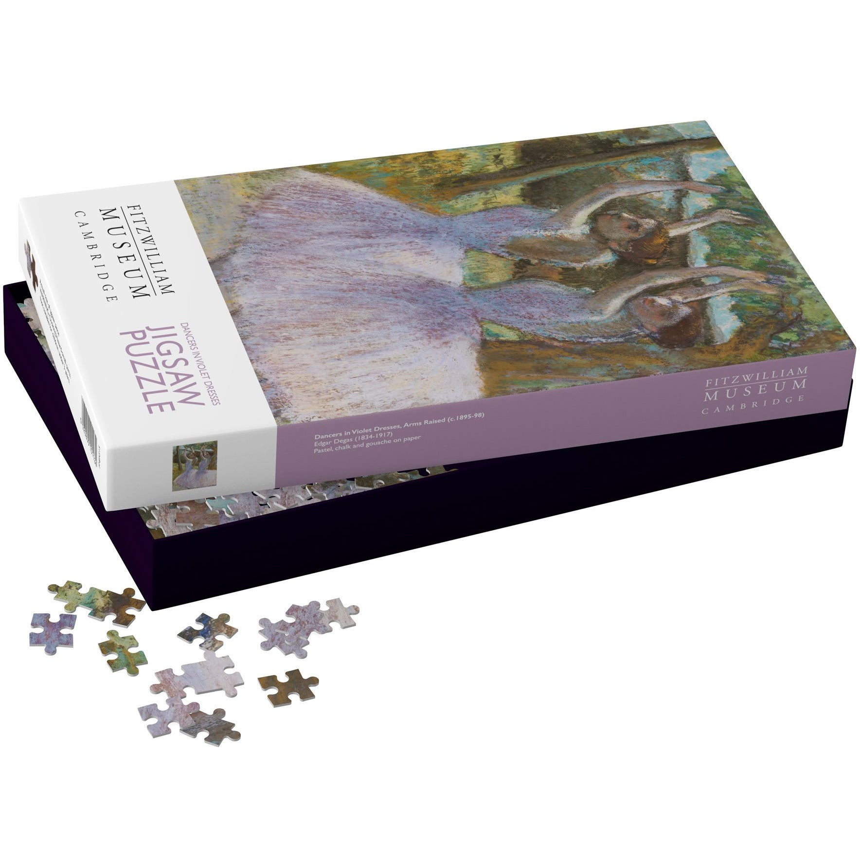 Featured image for the project: Dancers in Violet Dresses - 1000 piece jigsaw puzzle
