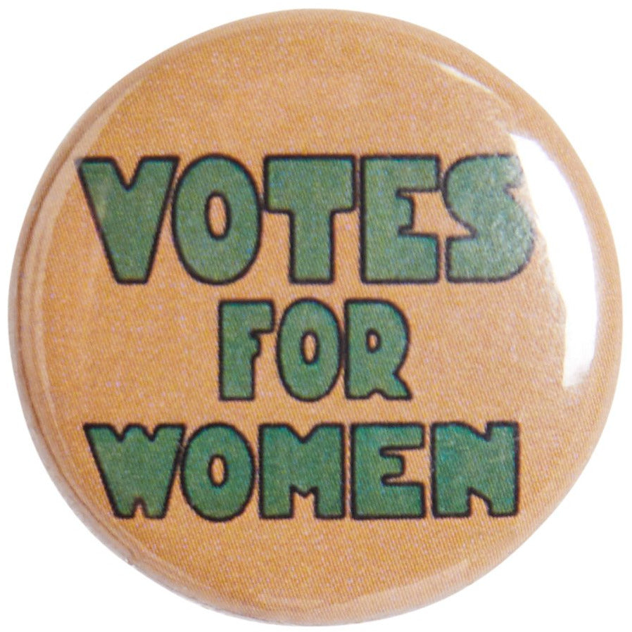 A product image depicting Votes for Women Pin Badge