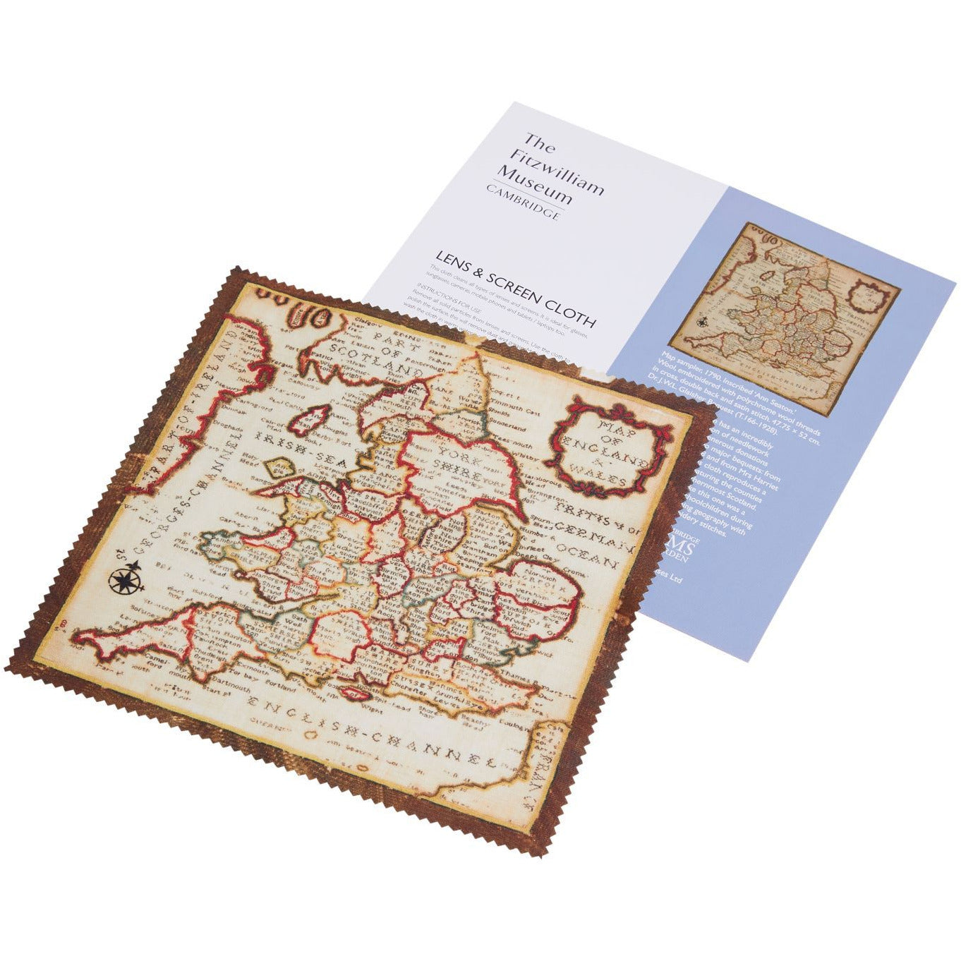 Featured image for the project: Map Sampler - Lens and screen cloth