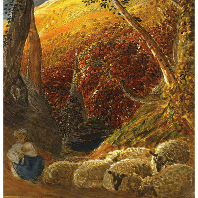 Greeting card - The Magic Apple Tree by Samuel Palmer. From the collection of The Fitzwilliam Museum, brought to you by Curating Cambridge.com