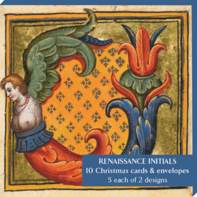 Featured image for the project: Renaissance Initials - Notecard pack