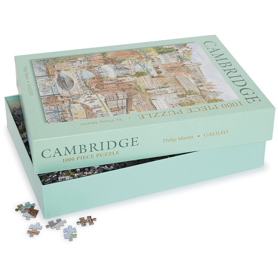 Featured image for the project: Scenes of Cambridge - 1000 piece jigsaw puzzle