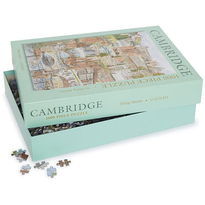 1000 piece jigsaw puzzle - Scenes of Cambridge by Philip Martin. Brought to you by CuratingCambridge.co.uk