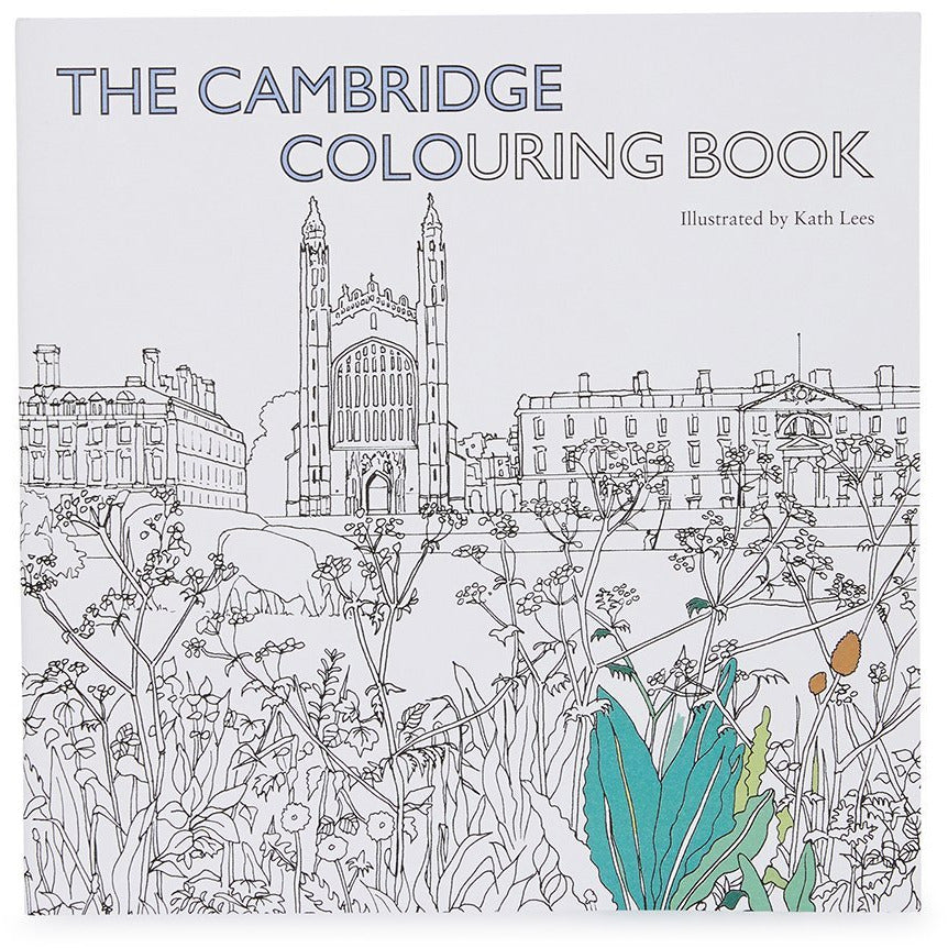 Featured image for the project: The Cambridge Colouring Book