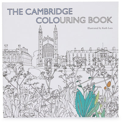 The Cambridge Colouring Book, iconic scenes of Cambridge by Kath Lees. Brought to you by CuratingCambridge.co.uk