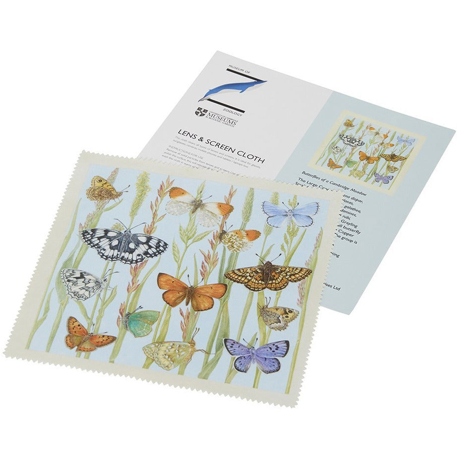 Featured image for the project: Butterflies of a Cambridge Meadow - Lens and screen cloth