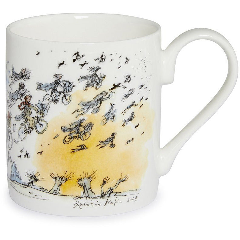 Featured image for the project: Finale: Graduation by Quentin Blake - Fine bone china mug