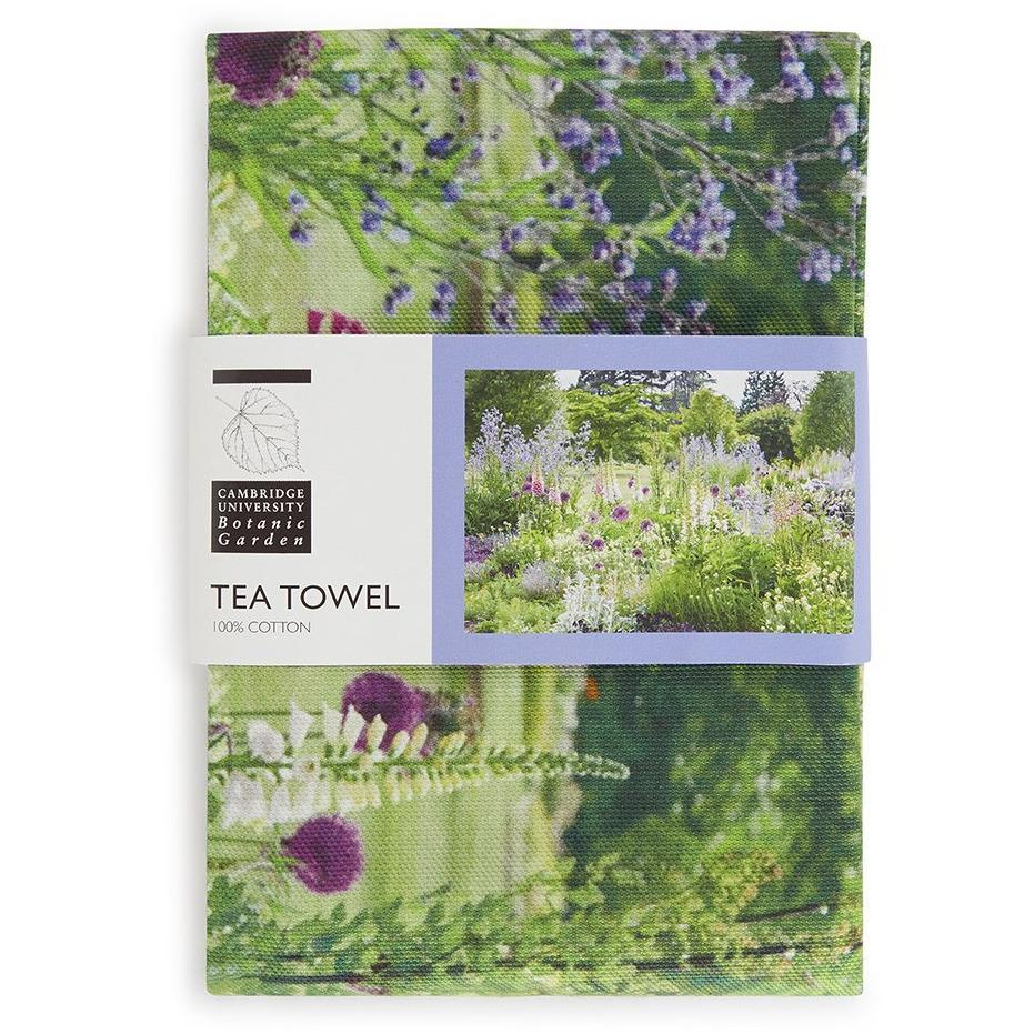 Featured image for the project: The Bee Border - Tea towel
