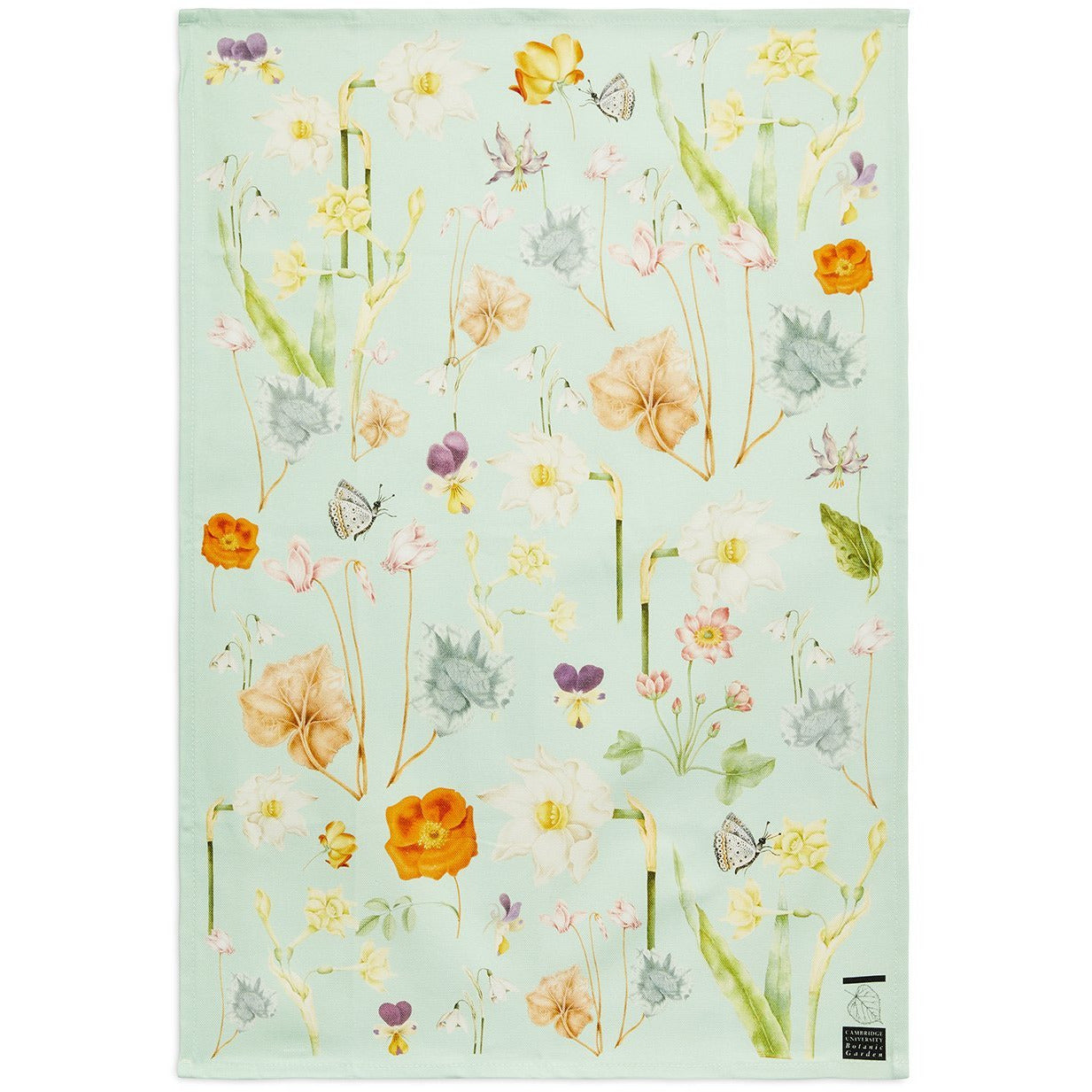 Featured image for the project: Signs of Spring - Tea towel