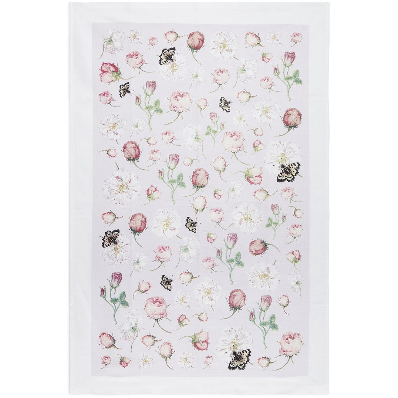 Featured image for the project: Summer Rose - Tea towel