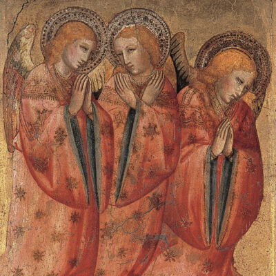 Featured image for the project: Three Angels - Christmas card pack
