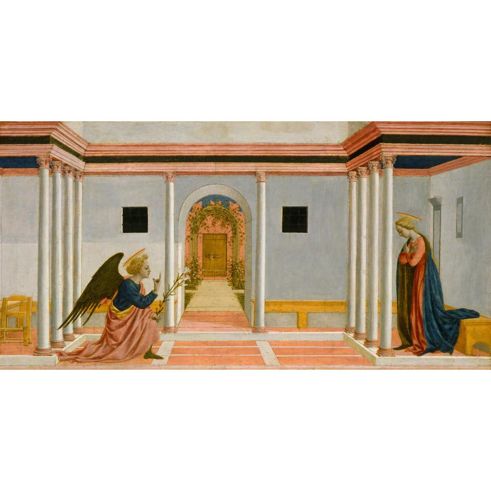 Featured image for the project: The Annunciation - Art print