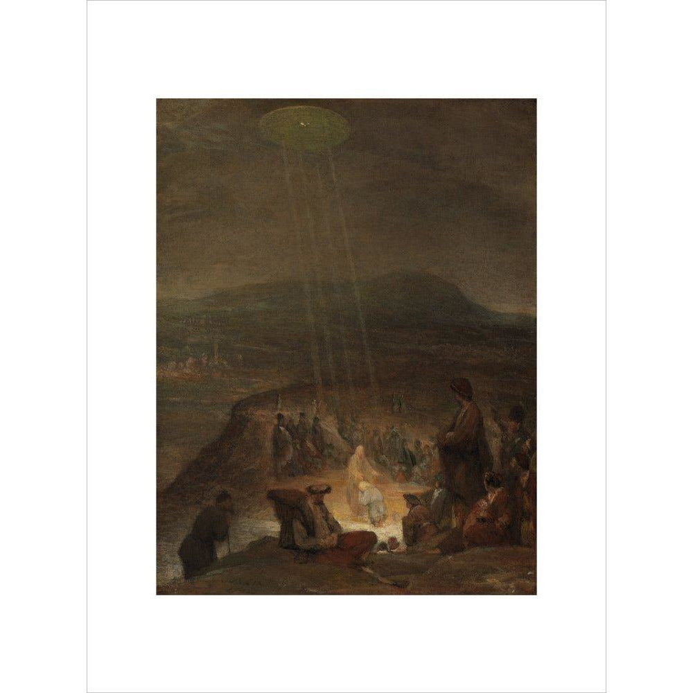 Featured image for the project: Baptism of Christ - Art print