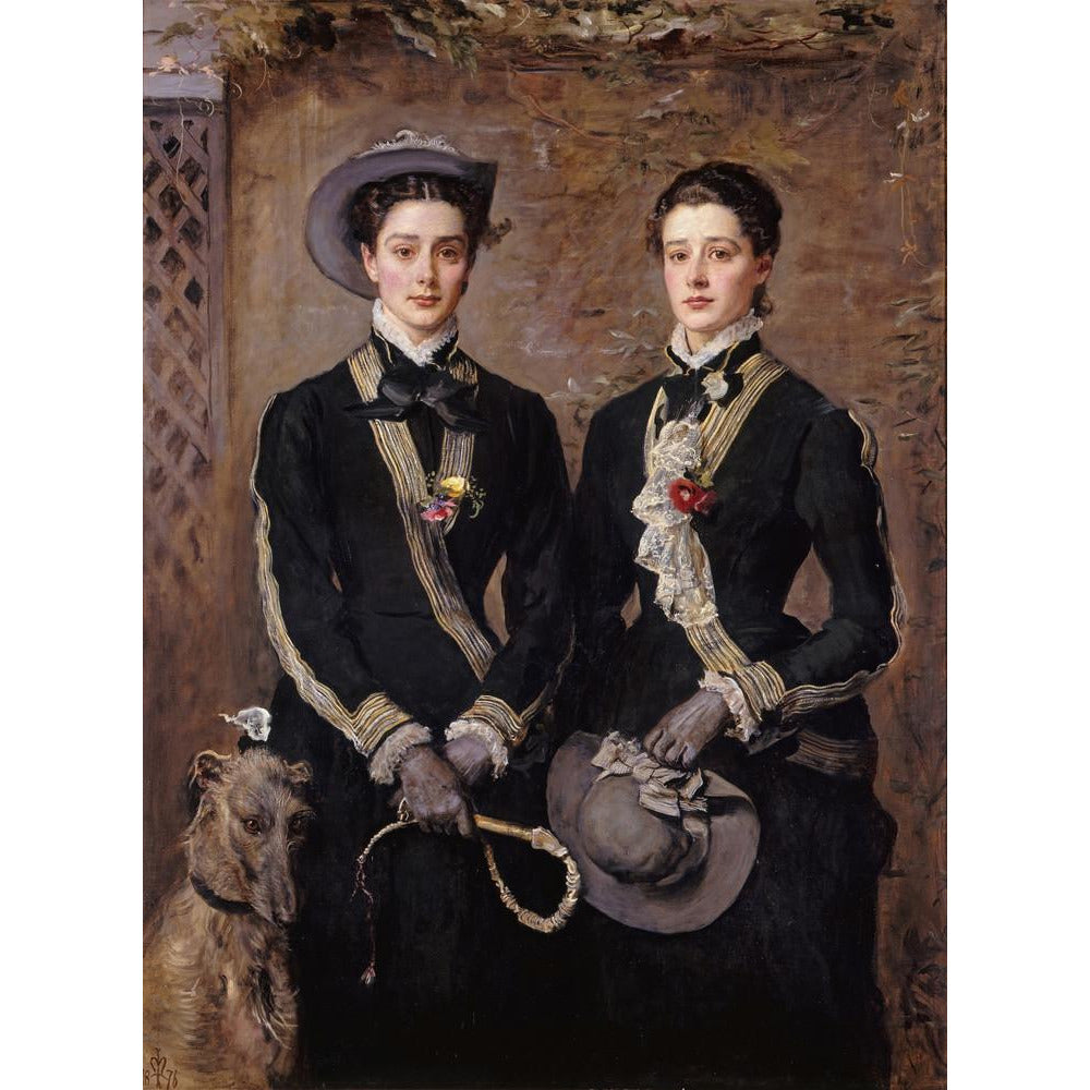 Featured image for the project: The Twins, Kate and Grace Hoare - Art print