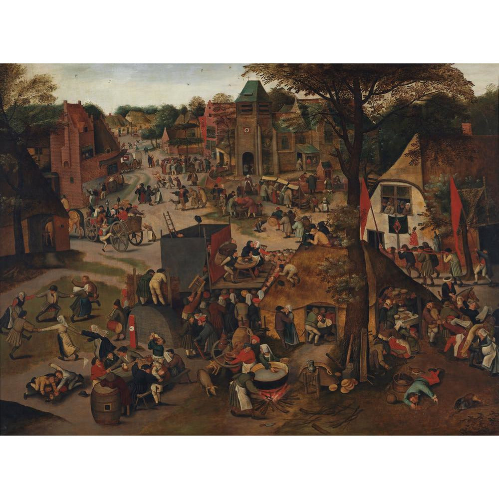 Featured image for the project: A Village Festival - Art print