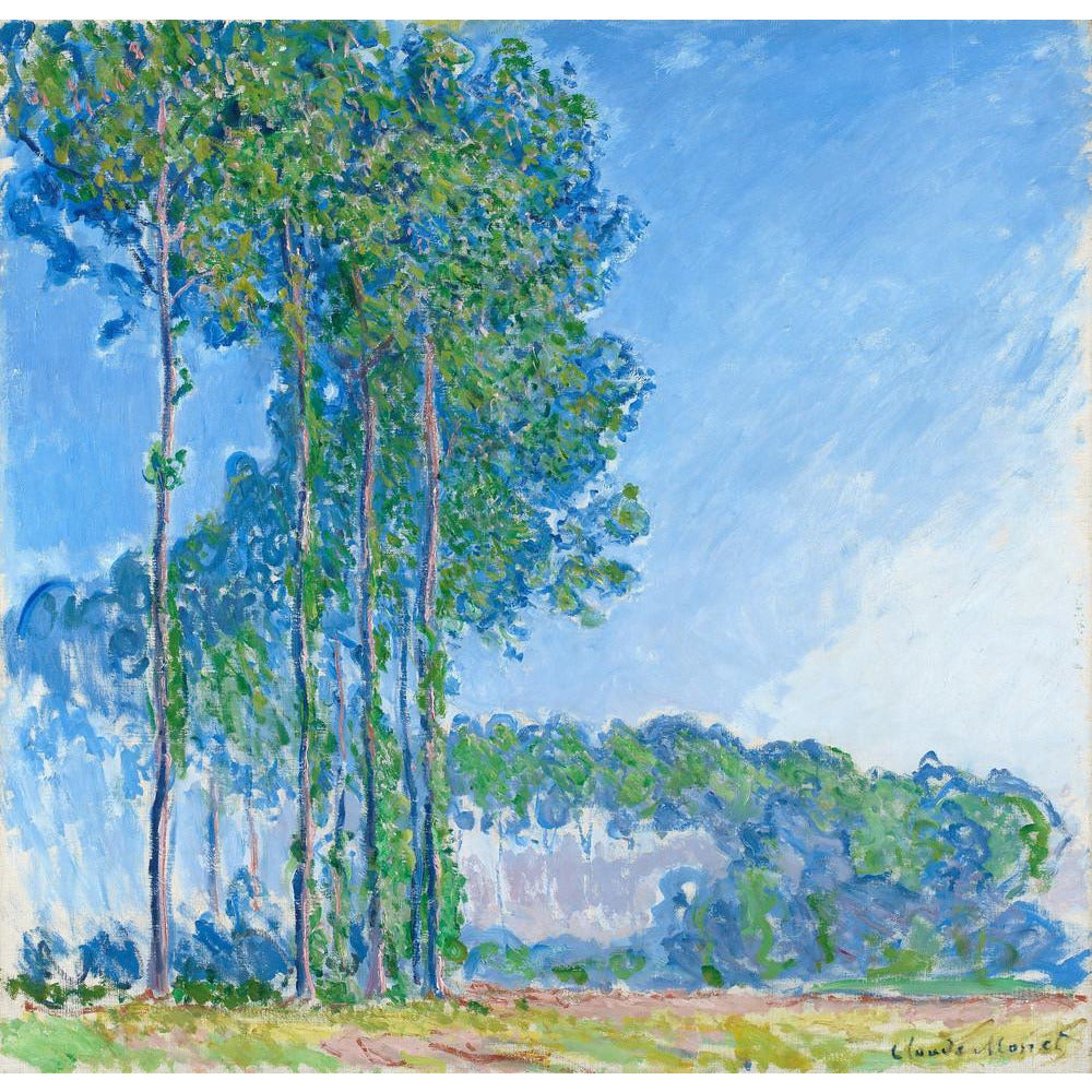 Featured image for the project: Poplars - Art print