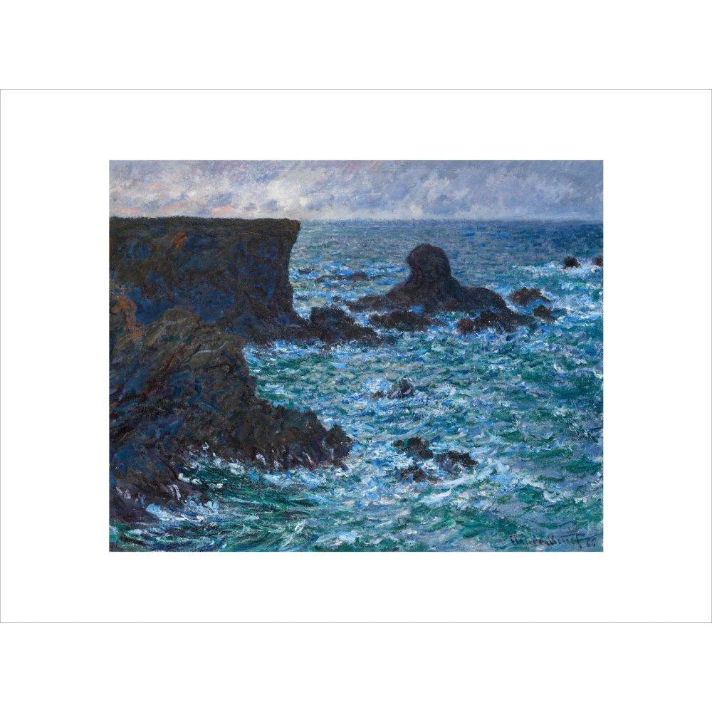 Featured image for the project: Rocks at Port-Coton - Art print