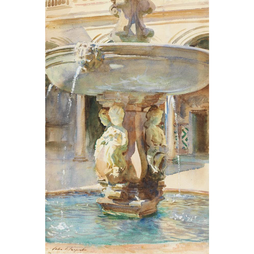 Featured image for the project: The Spanish Fountain, 1912 - Art print
