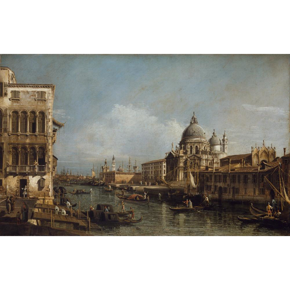 A product image depicting Entrance of the Grand Canal, Venice - Art print