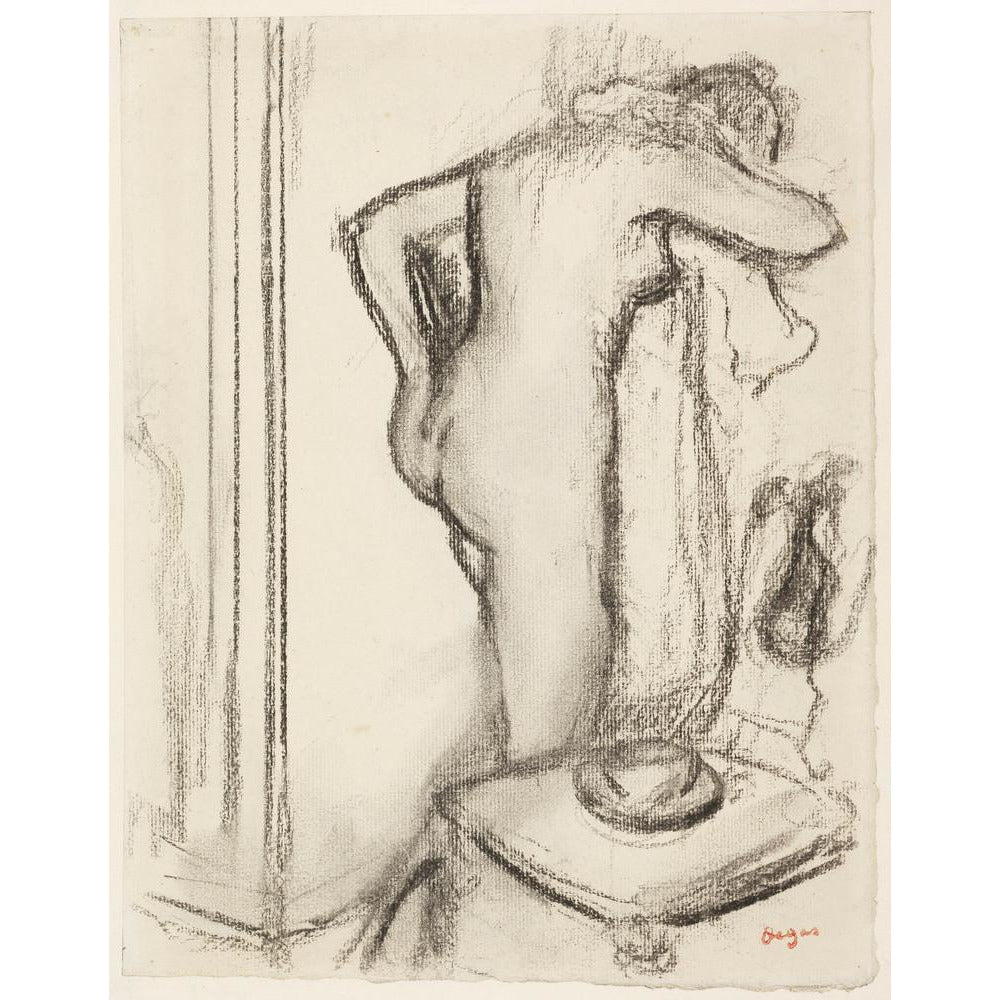 Featured image for the project: Femme à sa toilette - Art print