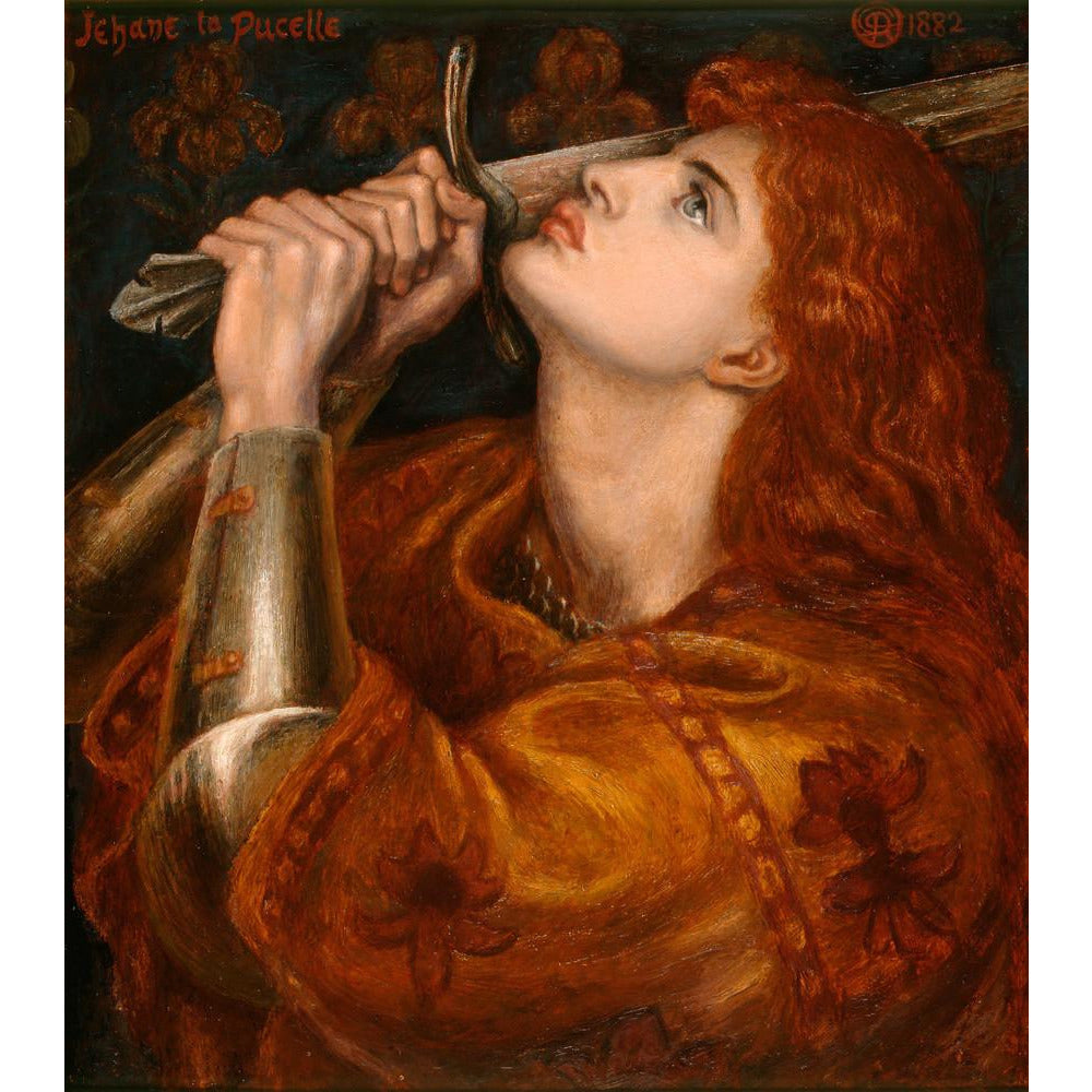 Featured image for the project: Joan of Arc - Art print