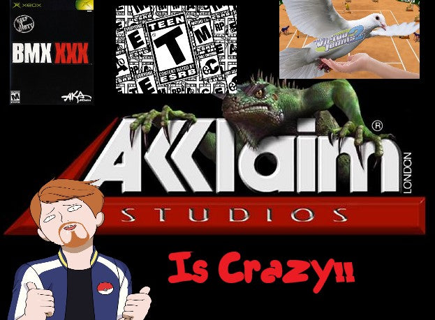 Acclaim:  The Craziest Video Game Company to Ever Live