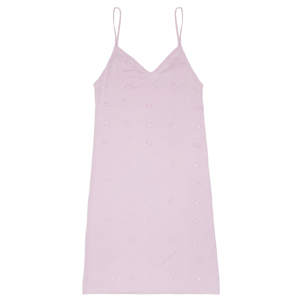 Bamboo Women's Nightie | Pink Space - Petit Bamboo