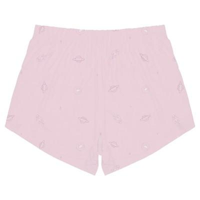 Bamboo Womens Shorts | Pink Space - Petit Bamboo