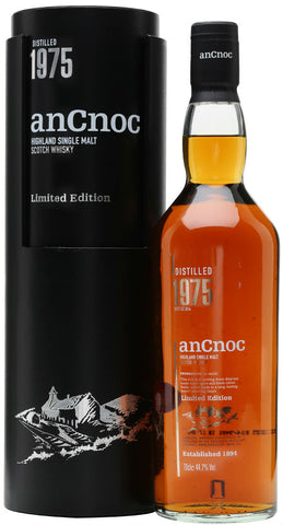 Ancnoc 1975 Limited Edition Highland Single Malt Scotch Whisky